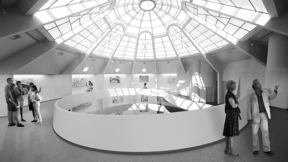 Guggenheim i toppen