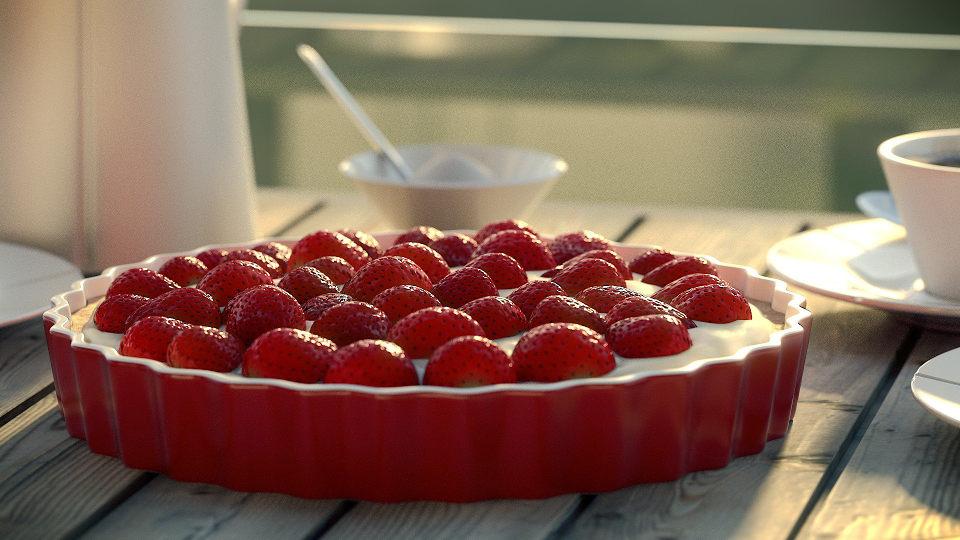 jordbærtærte hjemmeside